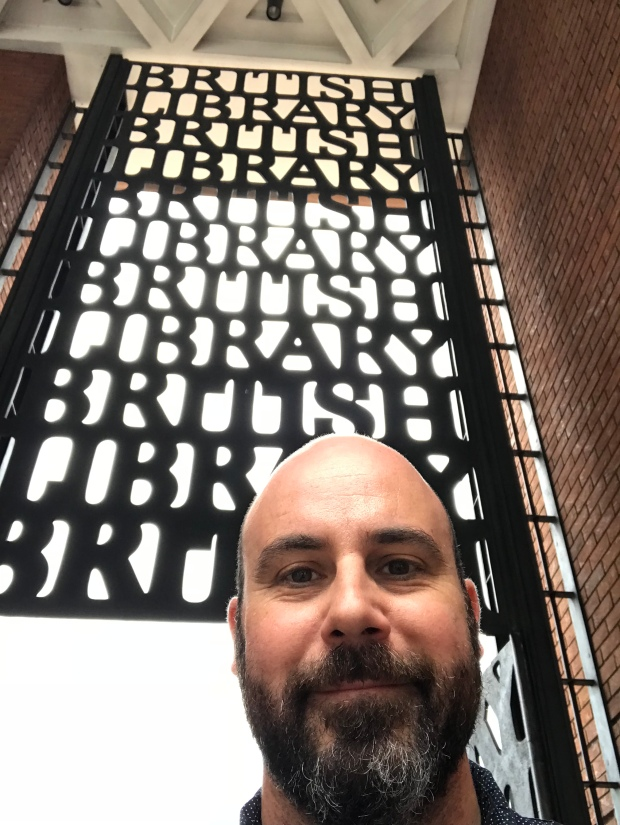 Mike at British Library